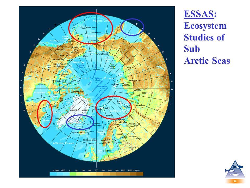 34 ESSAS: Ecosystem Studies of Sub Arctic Seas