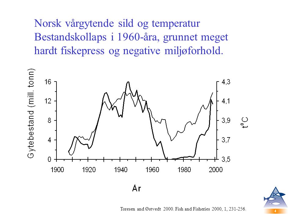4 4 Toresen and Østvedt 2000. Fish and Fisheries 2000, 1, 231-256.