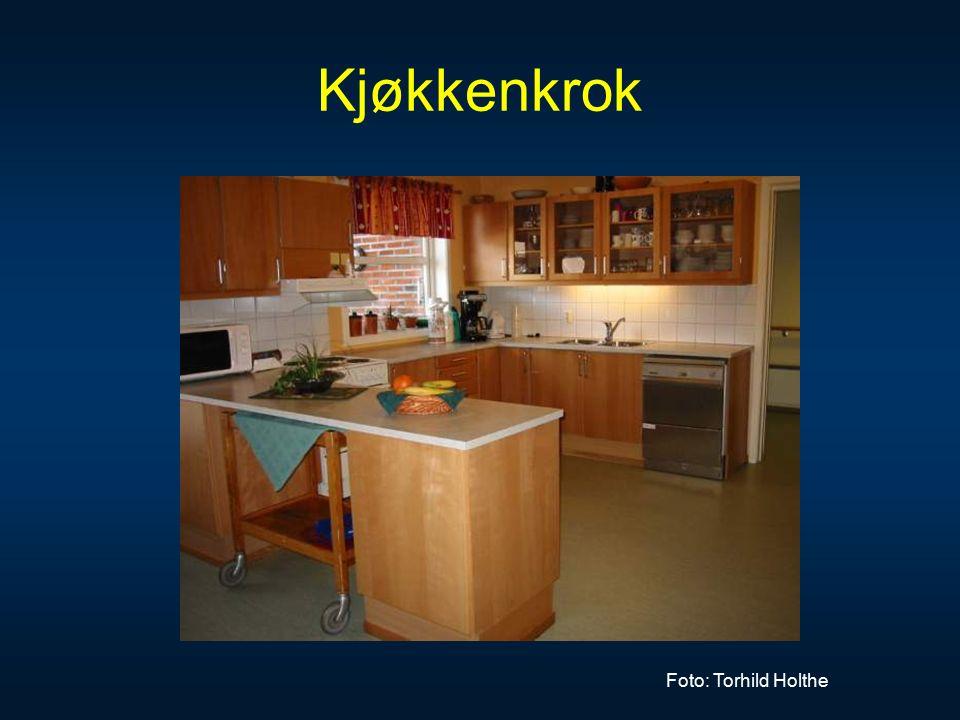 Kjøkkenkrok Foto: Torhild Holthe