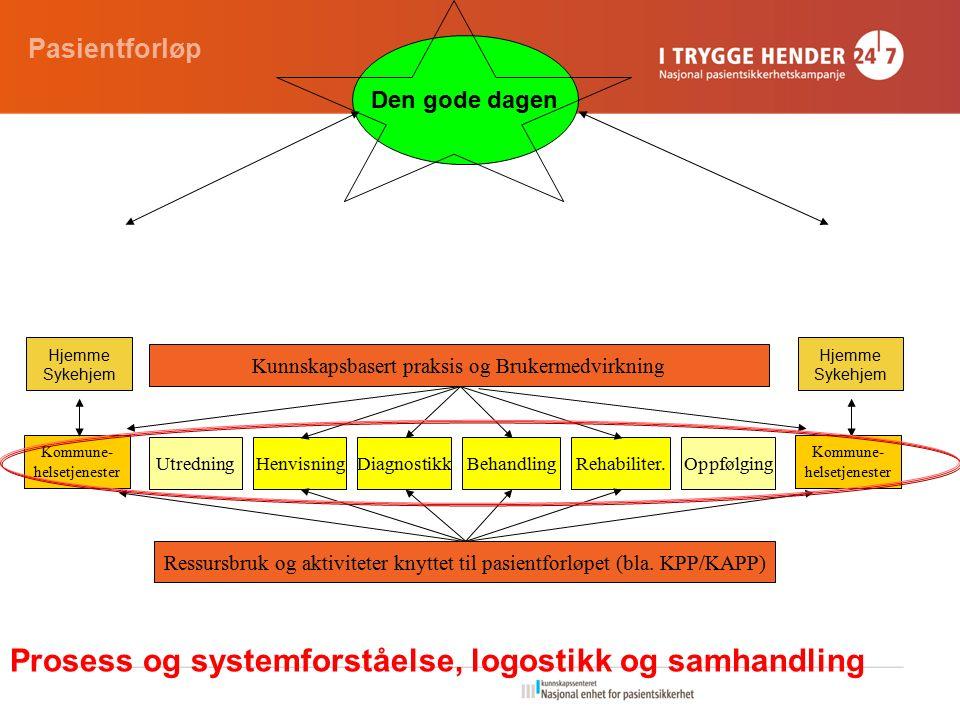 Kommune- helsetjenester UtredningBehandlingHenvisningDiagnostikkOppfølgingRehabiliter.
