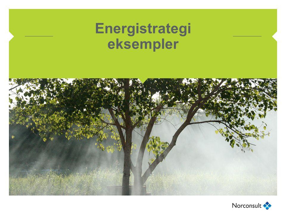 Energistrategi eksempler