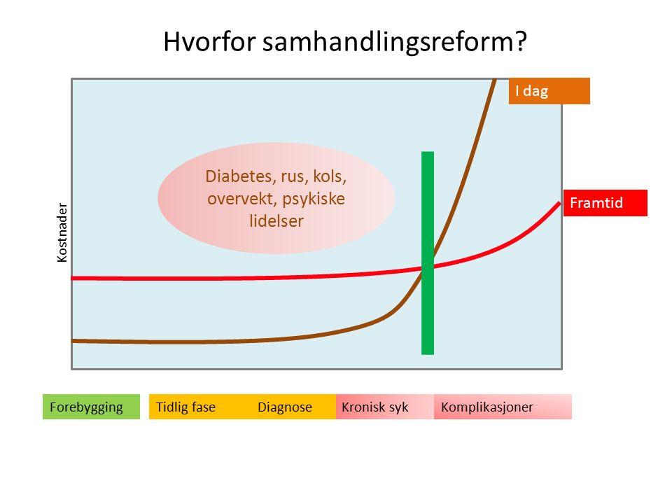 Samhandlingsprosjekt i Midt-Norge Helhetlig pasientforløp i hjemmet (HPH) (2007) – St.