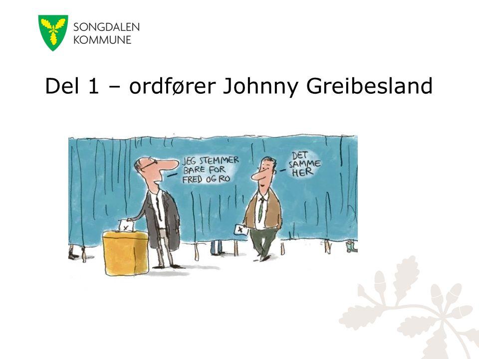 Del 1 – ordfører Johnny Greibesland