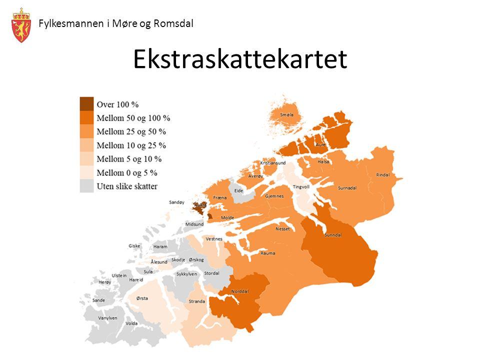 Fylkesmannen i Møre og Romsdal Ekstraskattekartet