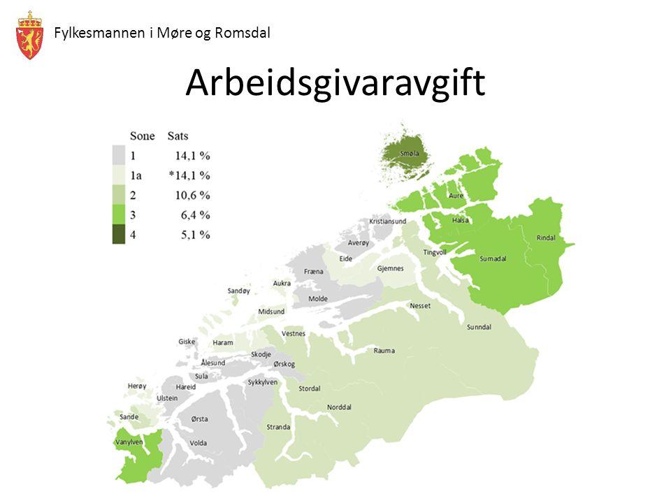 Fylkesmannen i Møre og Romsdal Arbeidsgivaravgift