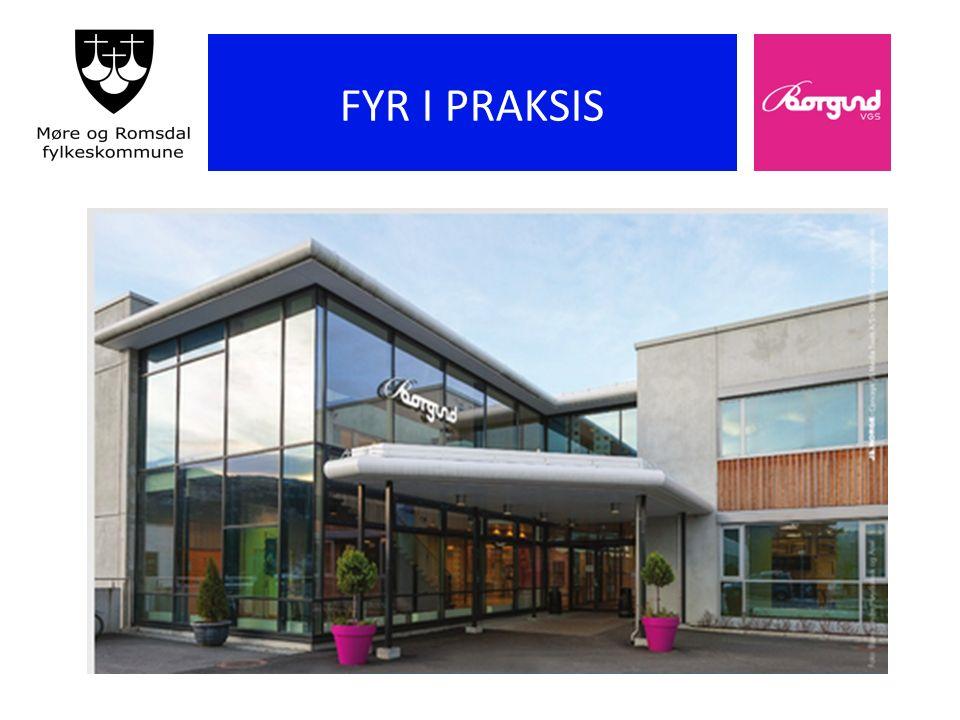 Stolte fagfolk for framtida Ein arena for personleg, fagleg og sosial vekst gjennom samhandling (frå skolen si pedagogiske plattform) Borgund vgs FYR FYR 2015 18.11.2015