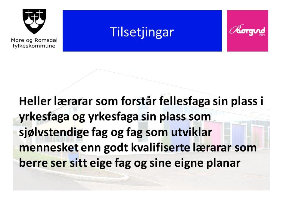 Borgund vgs Skolens handlingsplan