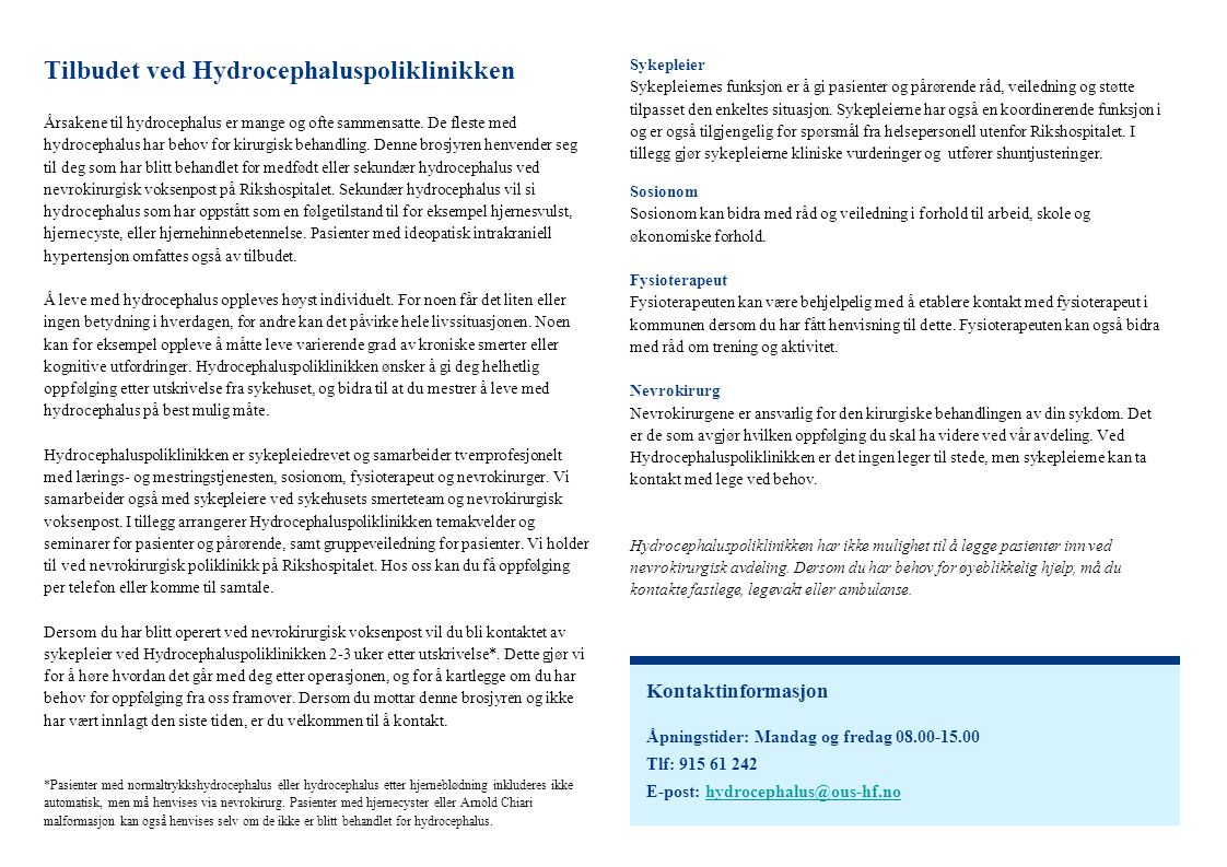 Årsakene til hydrocephalus er mange og ofte sammensatte.
