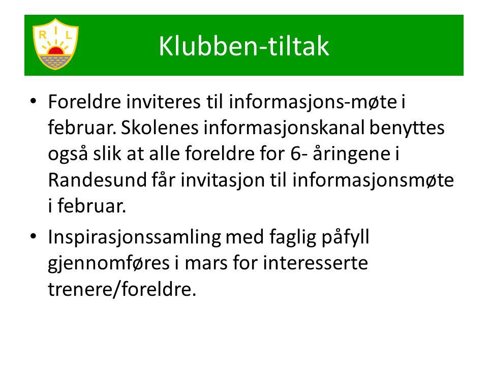 Foreldre inviteres til informasjons-møte i februar. Skolenes informasjonskanal benyttes også slik at alle foreldre for 6- åringene i Randesund får inv