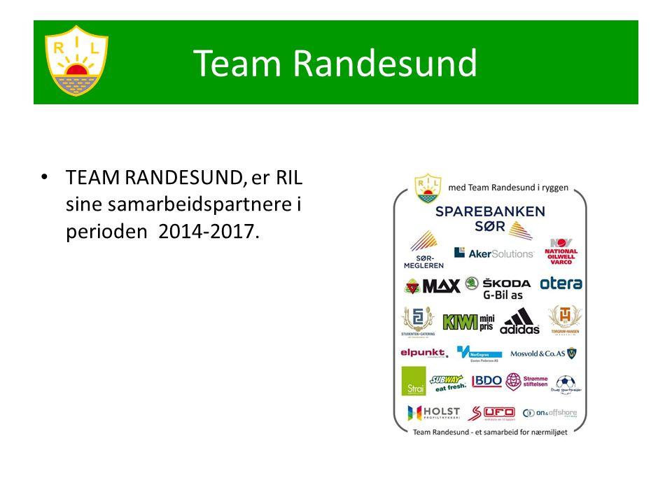 Team Randesund TEAM RANDESUND, er RIL sine samarbeidspartnere i perioden 2014-2017.