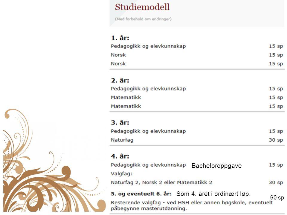 Samlinger høst 2015: Stord: 1.-3.sept.(uke 36) + 3.-5.