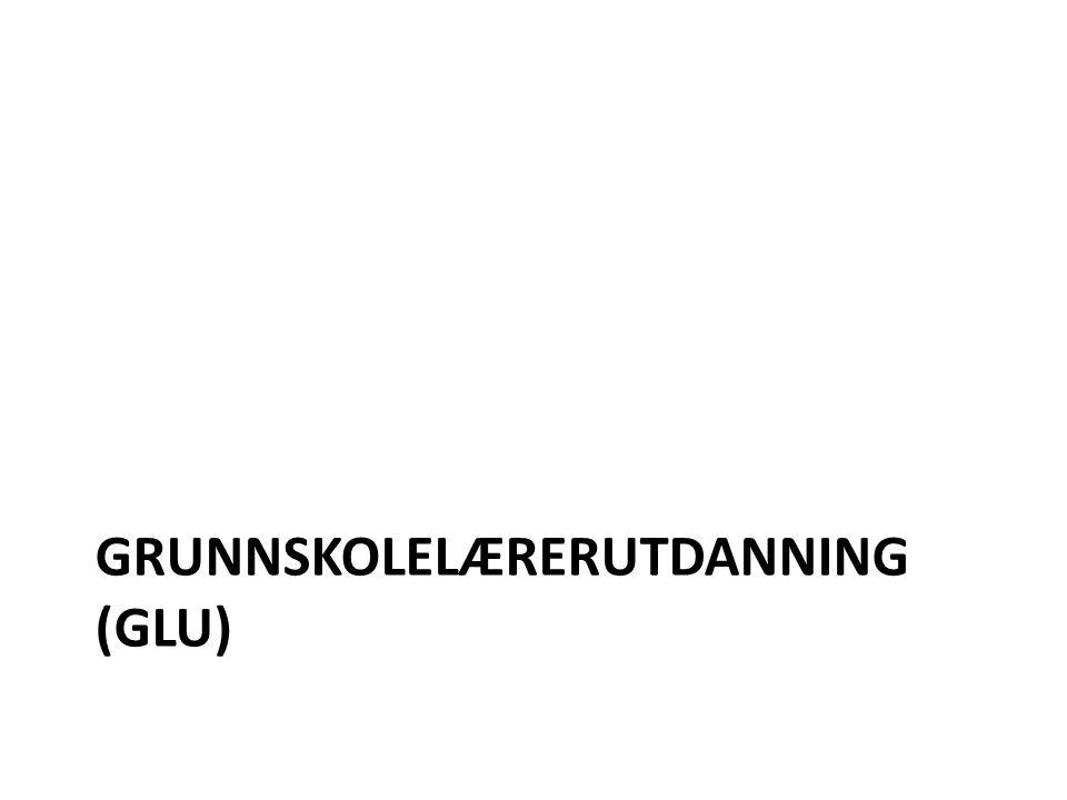 Lærerutdanninger i endring Kristian Andersen, studieleder GLU Ingvild Ruhaven, studieleder 8-13 Rådgiversamling åpen dag, 16.