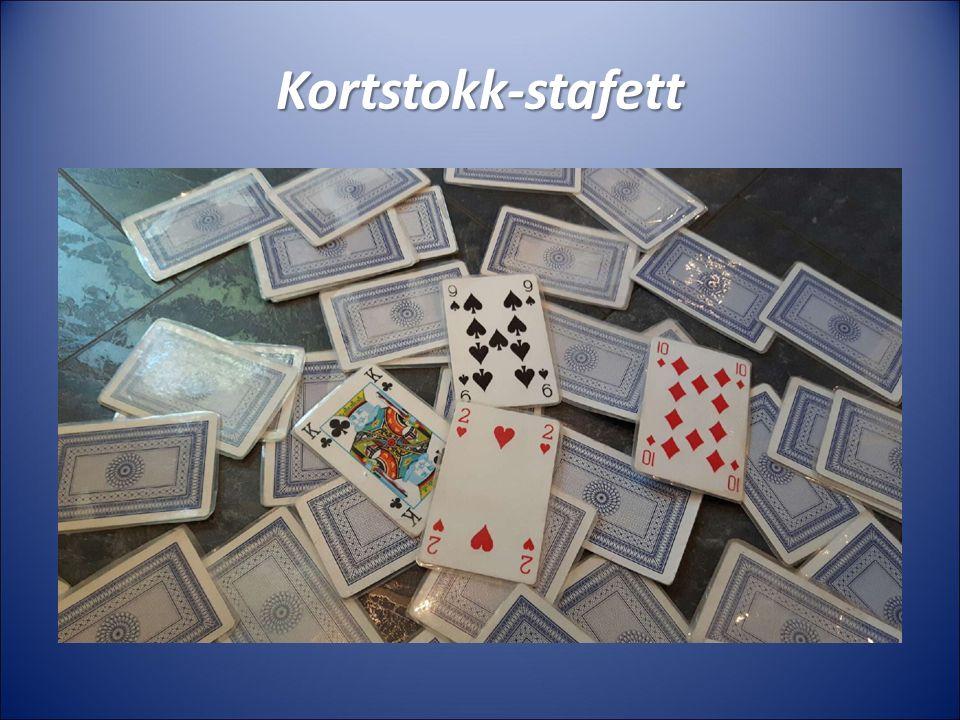 Kortstokk-stafett