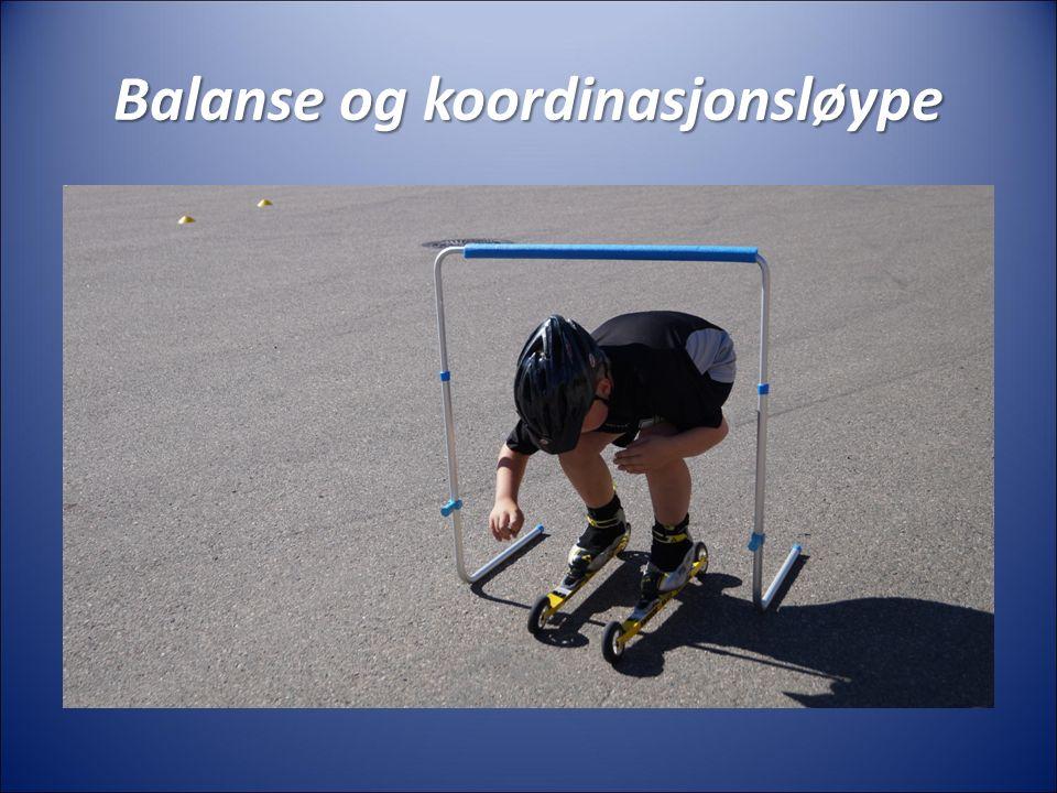Balanse og koordinasjonsløype