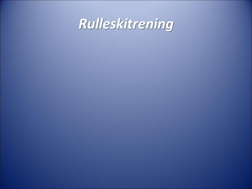 Rulleskitrening