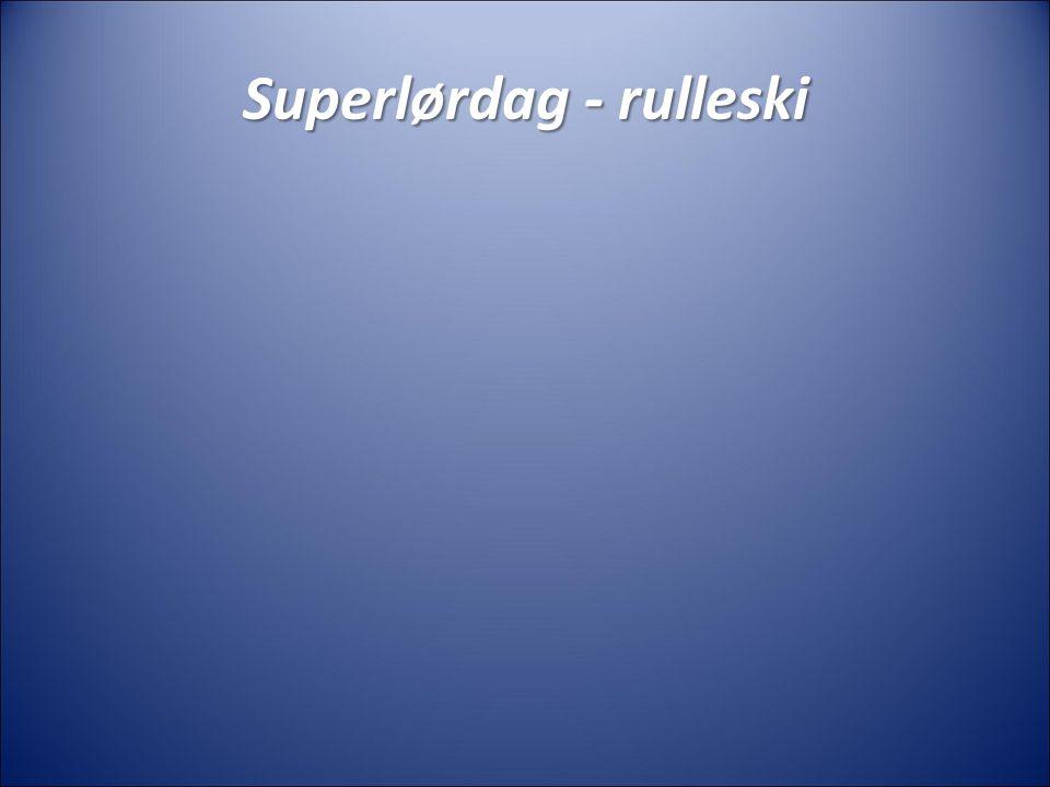 Superlørdag - sykling