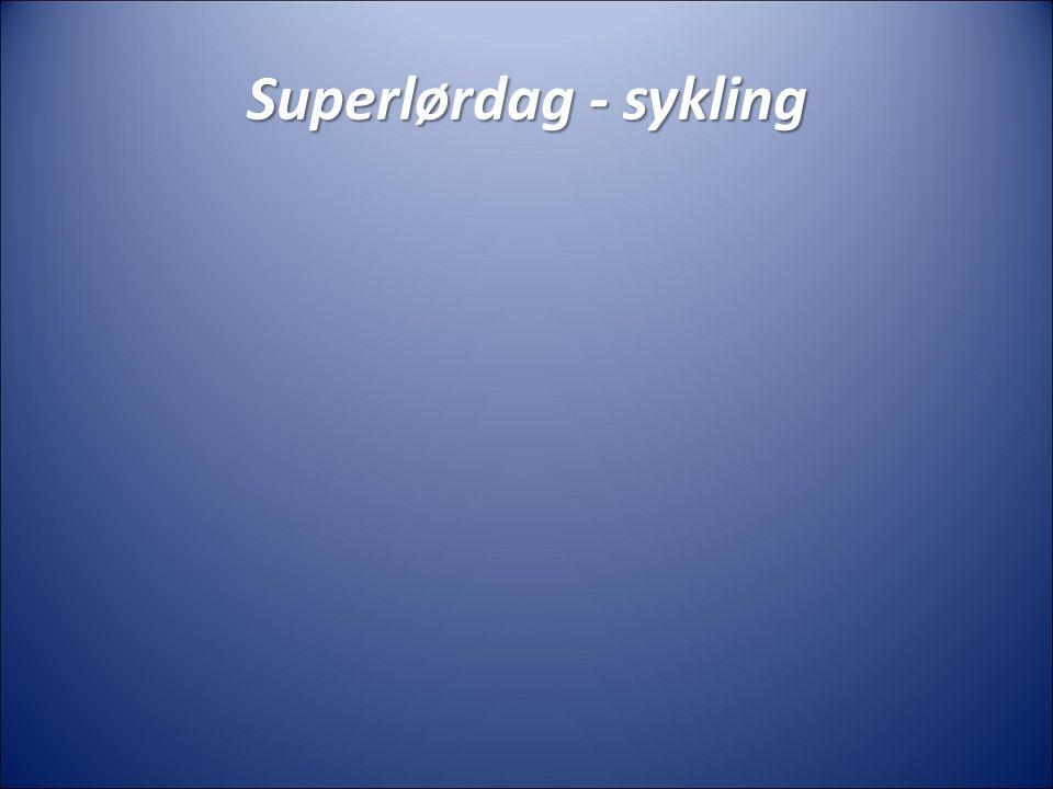 Superlørdag- løping