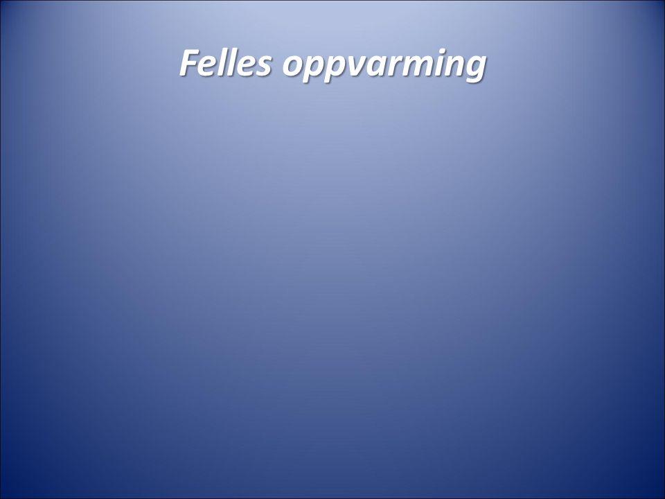 Felles oppvarming