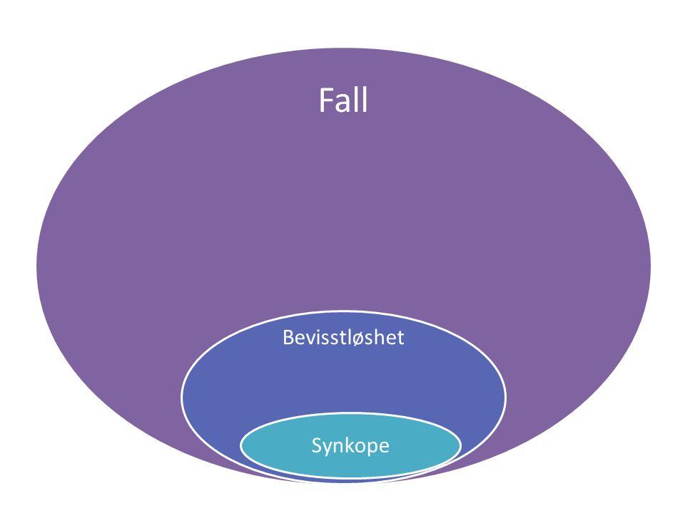 Fall Bevisstløshet Synkope