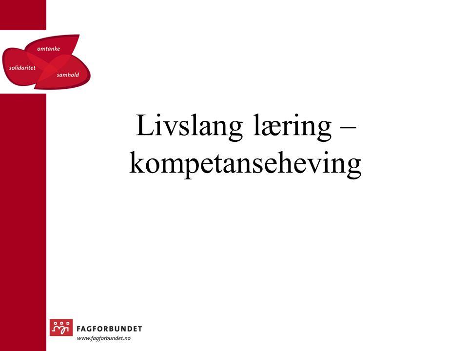 Livslang læring – kompetanseheving