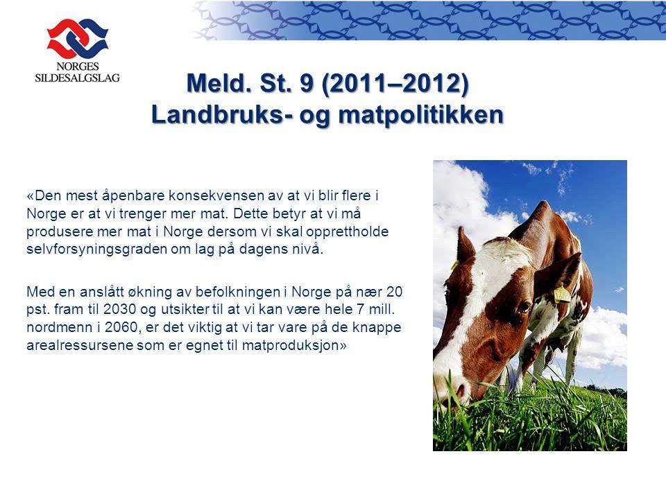 «Den mest åpenbare konsekvensen av at vi blir flere i Norge er at vi trenger mer mat. Dette betyr at vi må produsere mer mat i Norge dersom vi skal op