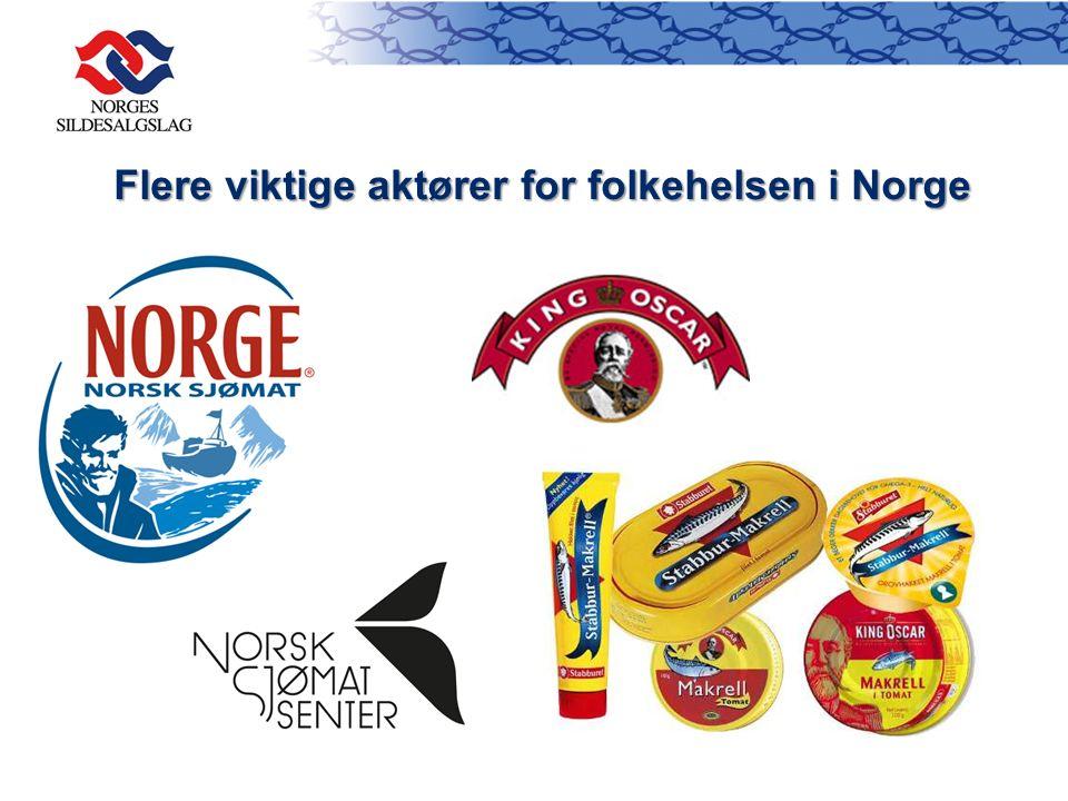 Flere viktige aktører for folkehelsen i Norge