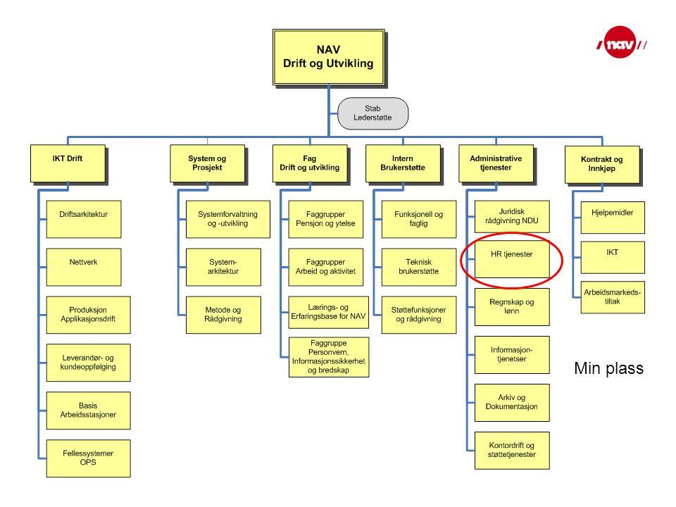 Arbeidet i NAV - interim i ca 1/2 år Prosjekt Kompetanse og kultur Arbeidsoppgavene var: utvikle forslag til kompetansekrav for NAV-kontorene.