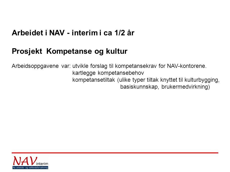 NAV er en innholds- og kompetansereform.