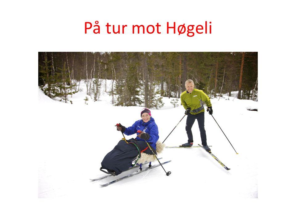 På tur mot Høgeli Bedre kloakkanlegg