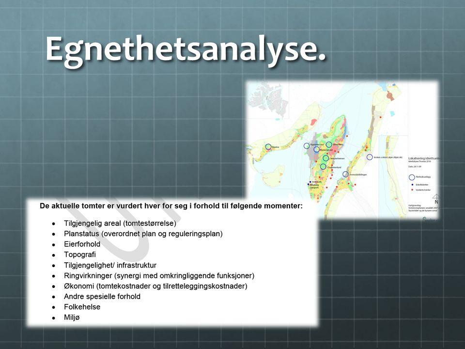 Egnethetsanalyse.