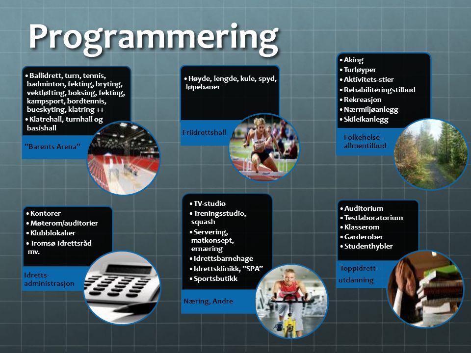 Programmering Toppidrett- utdanning Idretts- administrasjon Næring, Andre Ballidrett, turn, tennis, badminton, fekting, bryting, vektløfting, boksing,