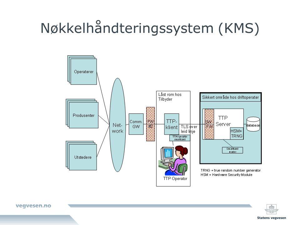 Nøkkelhåndteringssystem (KMS)
