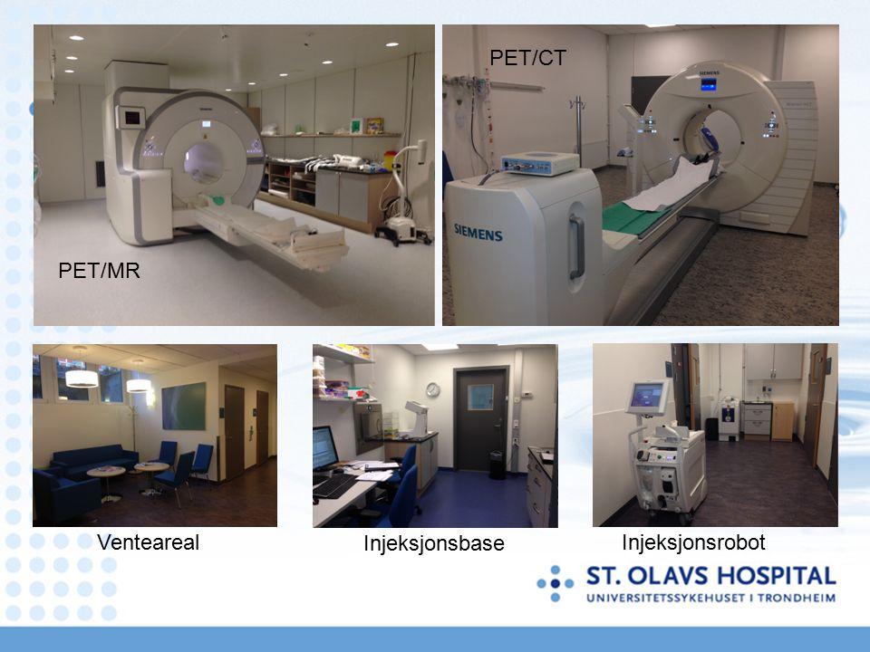 PET/MR Injeksjonsrobot Injeksjonsbase Venteareal PET/CT