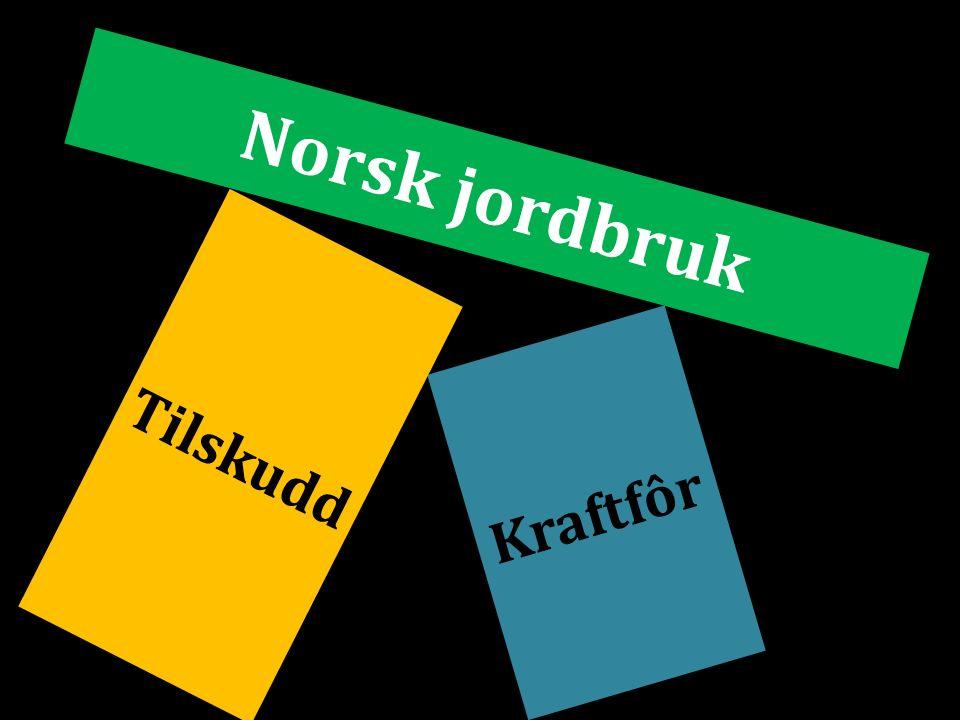 Norsk jordbruk Kraftfôr Tilskudd
