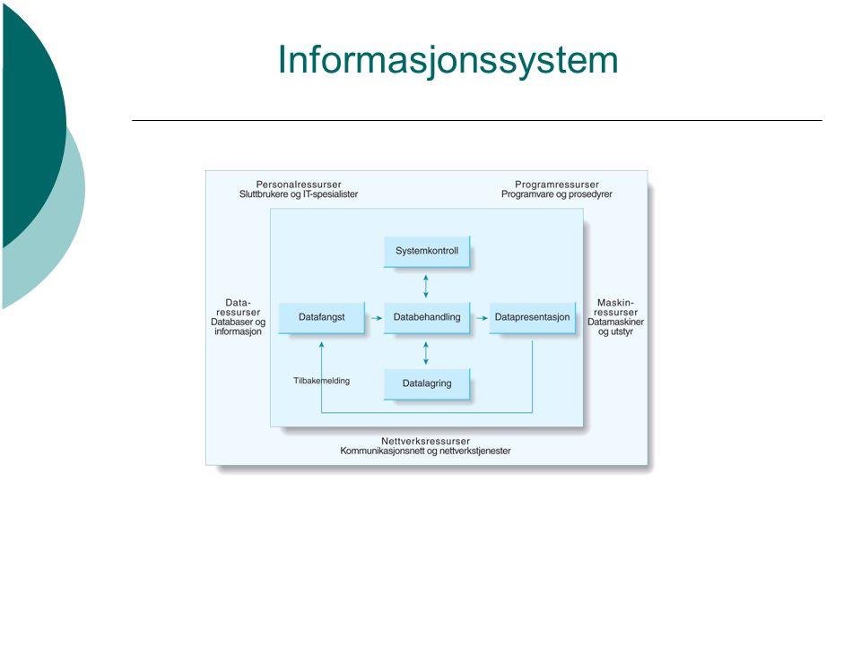 Informasjonssystem