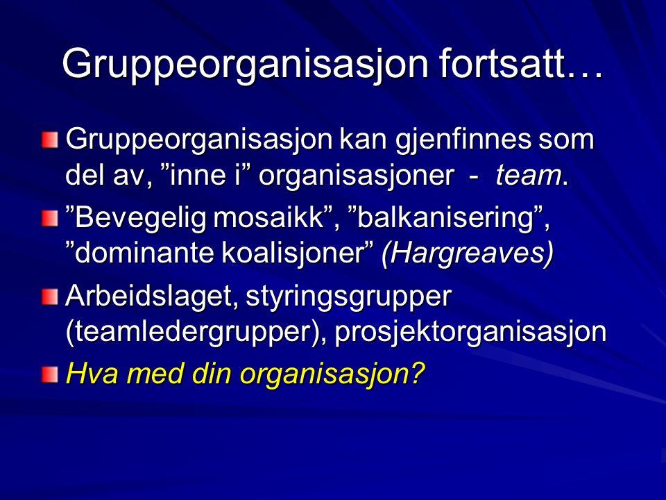 Organisasjon og ledelse For å sikre god ledelse i en organisasjon må det utøves fire lederroller (Adizes, 1979)