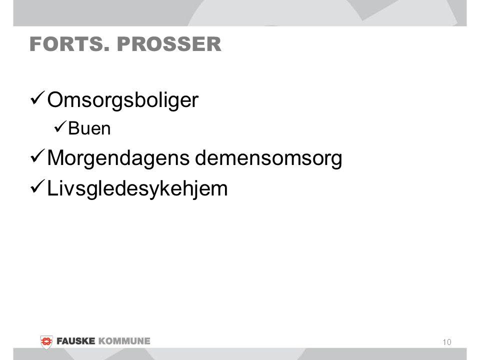FORTS. PROSSER Omsorgsboliger Buen Morgendagens demensomsorg Livsgledesykehjem 10