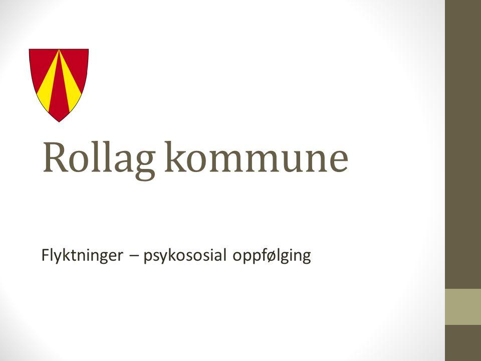 Rollag kommune Flyktninger – psykososial oppfølging