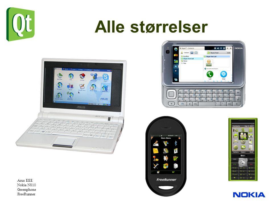 Alle størrelser Asus EEE Nokia N810 Greenphone FreeRunner