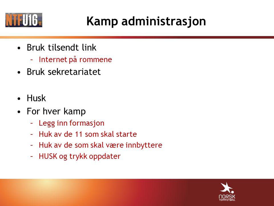 Dommere Administreres av Trøndelag Fotballkrets Fair Play –Spillere –Trenere –Ledere –Foreldre
