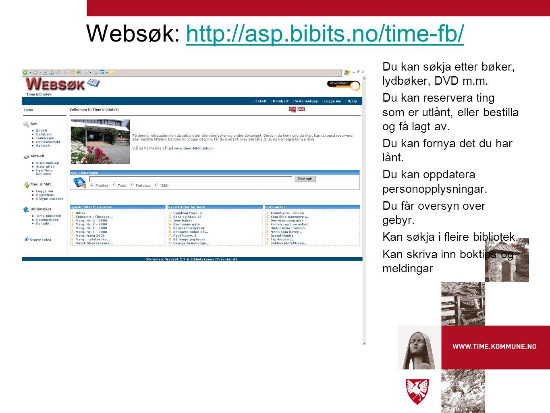 Ein blogg (forkort.for weblog). Handlar om arbeidet med det nye biblioteket.