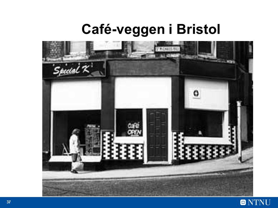 37 Café-veggen i Bristol