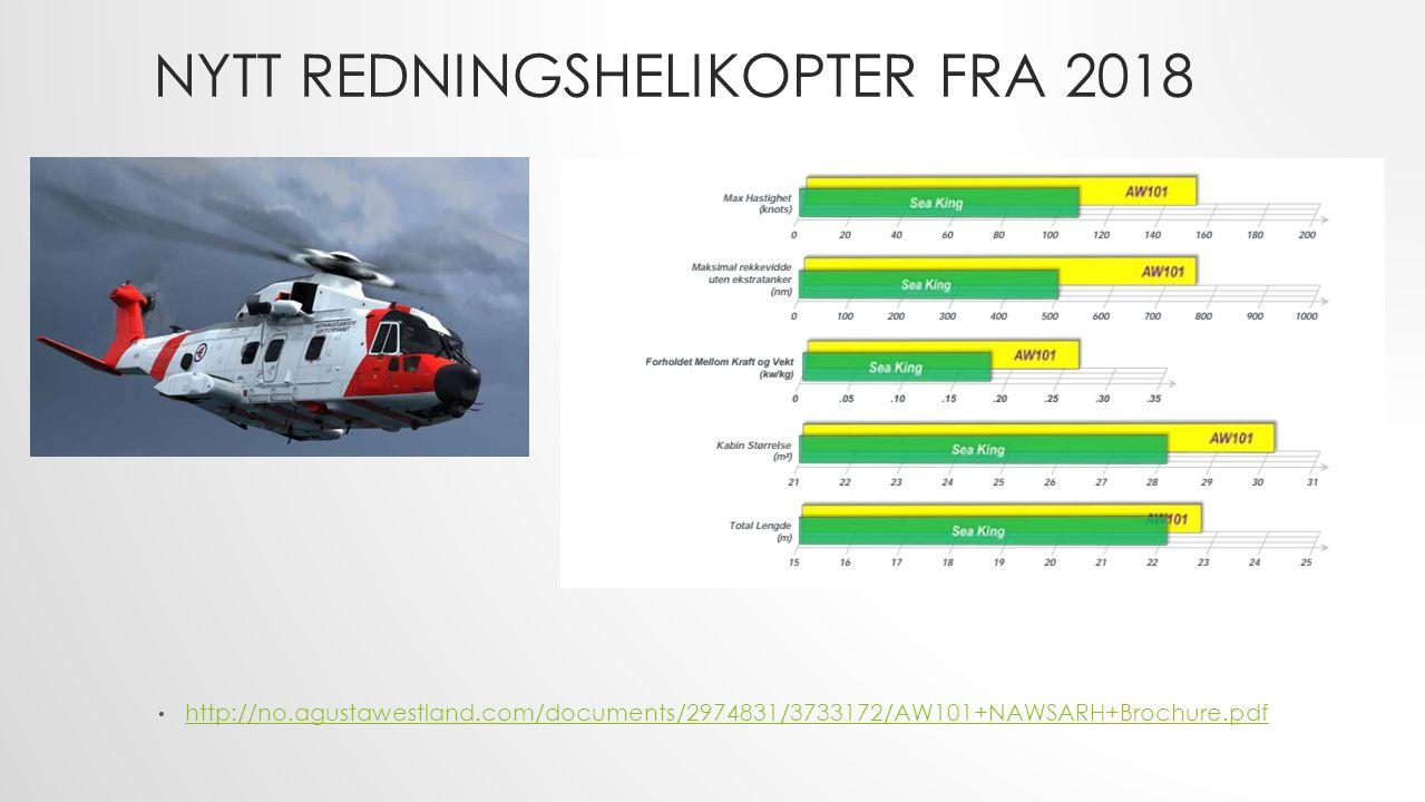 KAPASITET REDNINGSHELIKOPTER I 2015 hadde Sea King Bodø mindre enn gjennomsnittlig 1 oppdrag pr.
