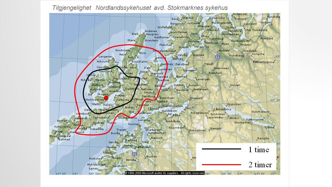 Tilgjengelighet UNN avd. Narvik