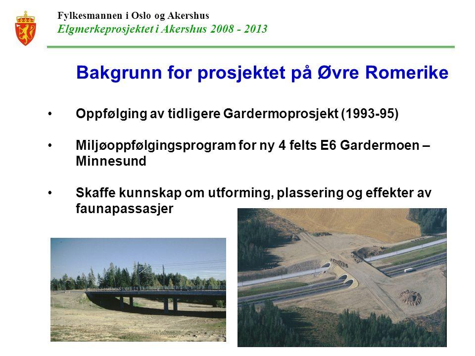 Fylkesmannen i Oslo og Akershus Elgmerkeprosjektet i Akershus 2008 - 2013 Takk for meg