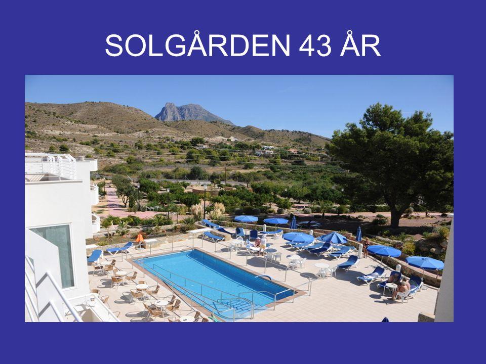 Her finner du Solgården Costa Blanca Alicante provins Villajoyosa 3 mil fra Alicante 1 mil fra Benidorm 3 km fra Villajoyosa