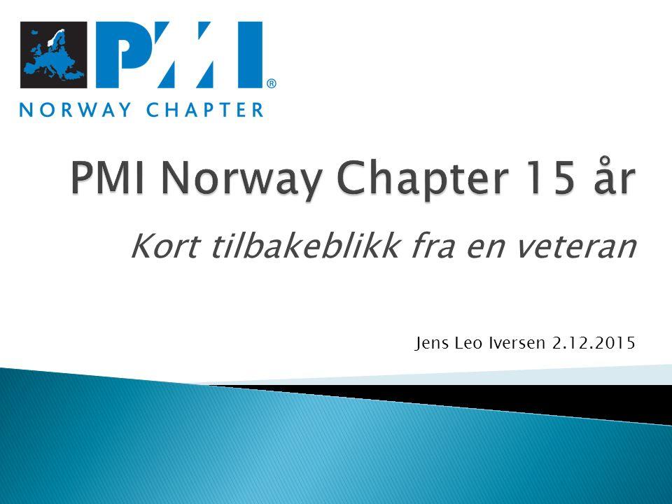 Kort tilbakeblikk fra en veteran Jens Leo Iversen 2.12.2015