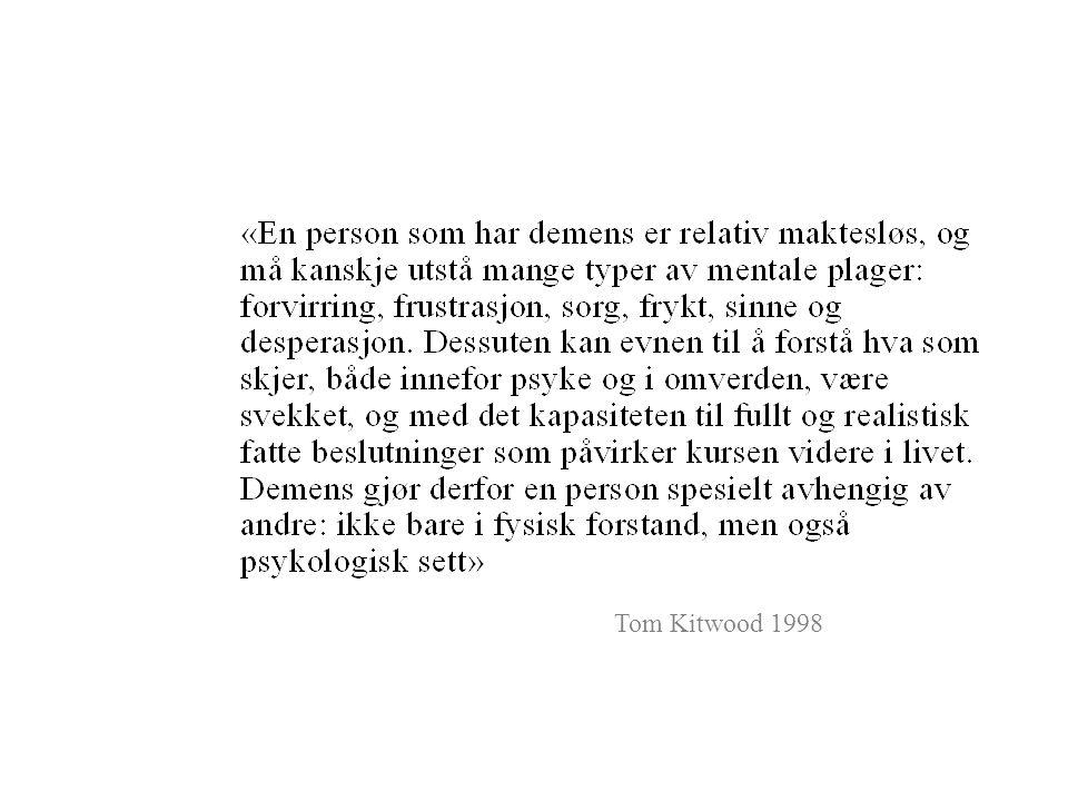 Tom Kitwood 1998