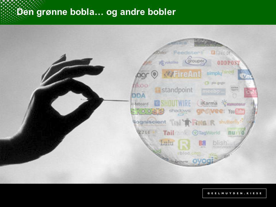 Den grønne bobla… og andre bobler