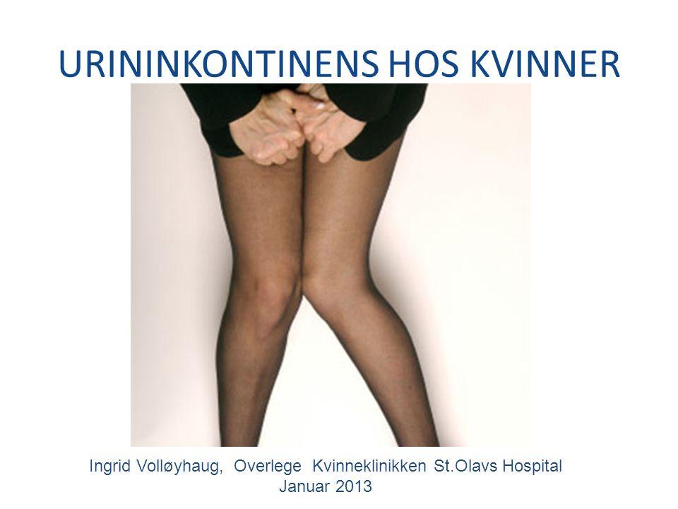 oppsummering Gjør gynekologisk undersøkelse før henvisning til spesialist.